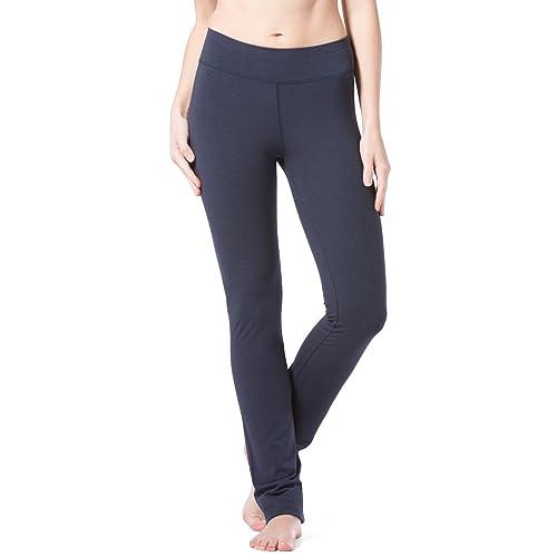 ecb3f73f85 Fishers Finery Women's Ecofabric Straight Leg Yoga Pant