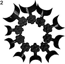 YuYe 100Pcs French False Nail Art Tips Short Wrap Edge Armor Acrylic UV Gel Tips - Black