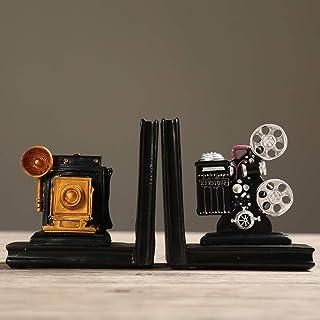 XUQIANG Rétro Vintage Book Block Salle D'étude Décorations Projecteur Projecteur Livre Liqueur Armoires Cabinets Petit Arr...