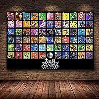 DFGAD アニメデッサンゲームDiy5Dダイヤモンドペインティングキットフルドリルラインストーン刺繡アートクラフト家の装飾用