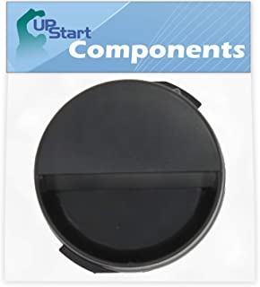 2260502B Refrigerator Water Filter Cap Replacement for Whirlpool ED2KHAXVS03 Refrigerator - Compatible with WP2260518B Black Water Filter Cap - UpStart Components Brand