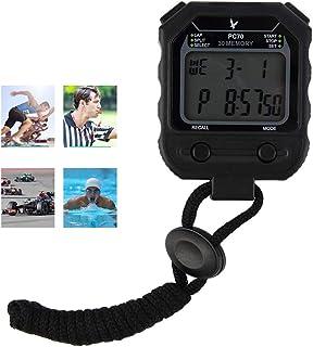 CXQWAN stoppur timer, digital sport stoppur timer, för simning löpning fotboll träning, stötsäker sport stoppur för tränar...