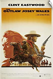 CANVAS ON DEMAND The Outlaw Josey Wales Wall Peel Art Print, 12