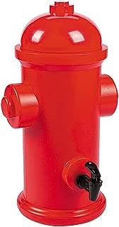 Fun Express - Fire Hydrant Drink Dispenser for Birthday - Party Supplies - Drinkware - Misc Drinkware - Birthday - 1 Piece