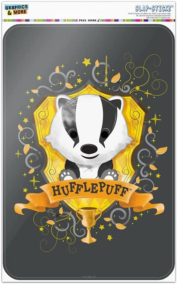Harry Potter Chibi Ranking TOP1 Hufflepuff Crest Challenge the lowest price of Japan ☆ Home Office Sign Business