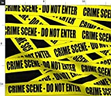 Tatort, Warnung, Pop Art, Polizei Stoffe - Individuell