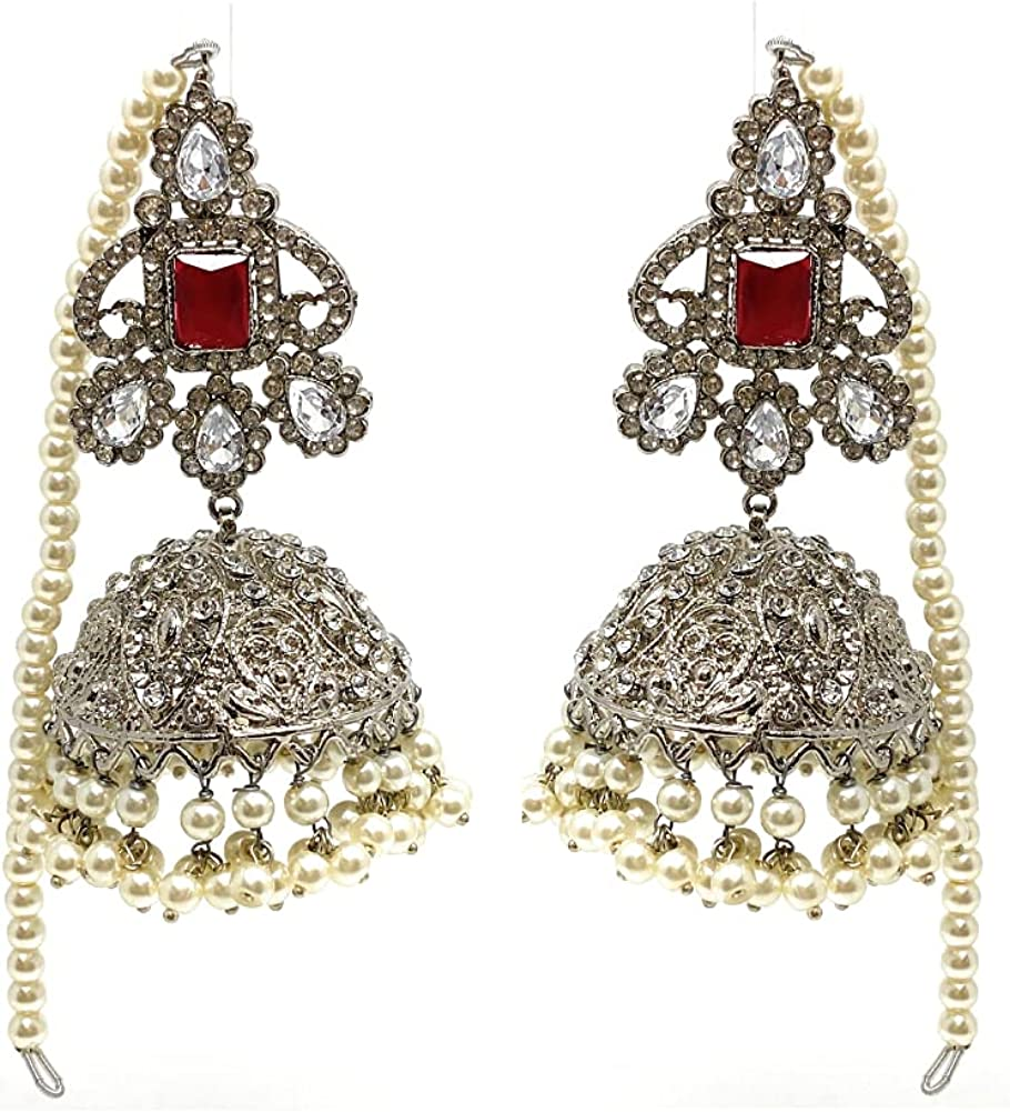 Pakistani Indian Gold Plated Popular brand in the world Chandelier Bollywood Jhumki Sale special price Earring