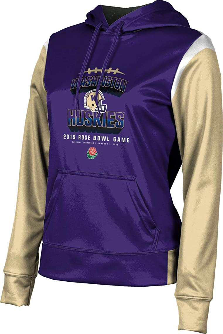 ProSphere Rose Bowl - University of Washington Girls' Pullover Hoodie, School Spirit Sweatshirt (Tailgate)