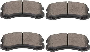 cciyu Professional Front Ceramic Disc Pads Set fit for 2002 2003 2004 2005 2006 2007 Mitsubishi Lancer