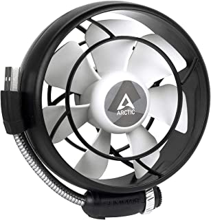 ARCTIC Summair Light - Portable USB Fan for Office, Home Office, Desktop Fan Cooler for Computer, Laptop, Macbook, Silent ...