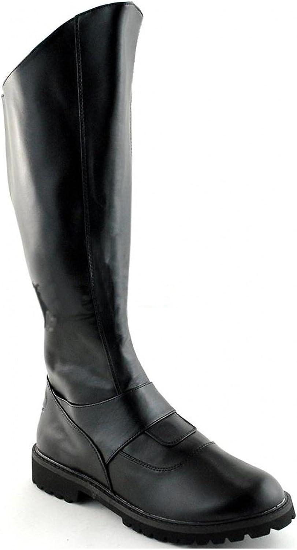 Funtasma by Pleaser Men's Halloween Gotham-100 Boot Black Polyurethane Size -XL