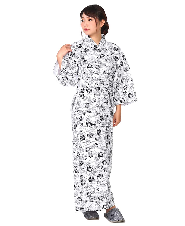 ガーゼ 寝巻き 婦人用 S M L LL 二重袷ガーゼ 綿100% お寝巻 ねまき パジャマ 浴衣 旅館 介護 女性 レディース