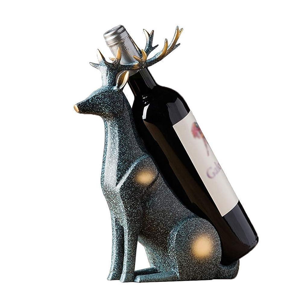 宣言オートデザイナーHonana ワインラック ワインホルダー インテリア ワインラック大気クリエイティブのシンプルな装飾カップホルダー内閣ホームディスプレイ22 X 10 X 31センチメートル、ワインのためのワインラック?プレイスザ?シェルフ おしゃれ 実用的 工芸品 手作り 室内装飾