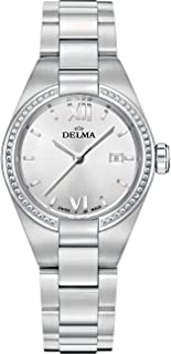 DELMA - Rimini Reloj para Mujer Analógico de Cuarzo con Brazalete de Acero Inoxidable 41711.625.1.066