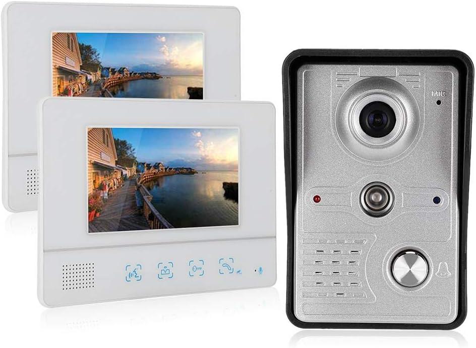 Video Doorbell Intercom 7in TFT Outlet SALE Max 55% OFF Screen M Phone Door 2 with