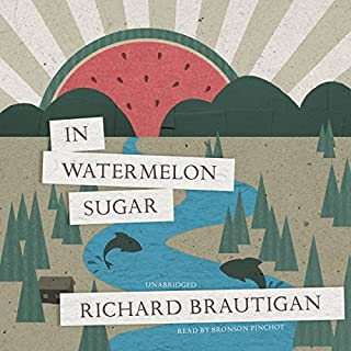 In Watermelon Sugar audiobook cover art