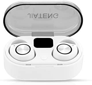 $49 » Sponsored Ad - Wireless Earbuds Bluetooth 5.0 Headphones - Touch Control with Charging Case, Digital LED Display, TWS Ster...