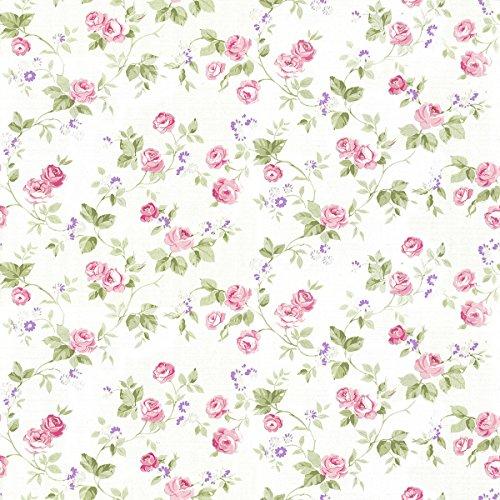 Papel Pintado Pared Flores Pequeñas Marca DansLemur