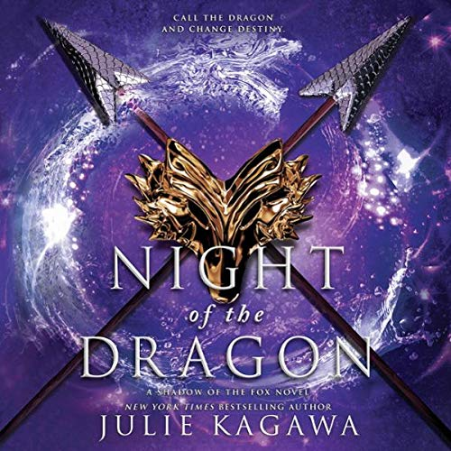 Night of the Dragon audiobook cover art