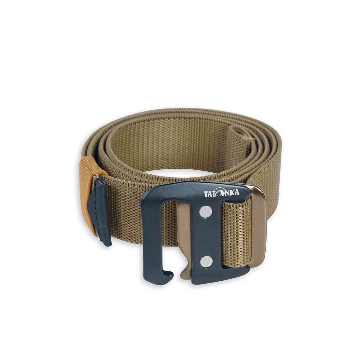Tatonka Herren Gürtel Stretch Belt 32 mm, Coyote Brown, 125 x 3,2 cm