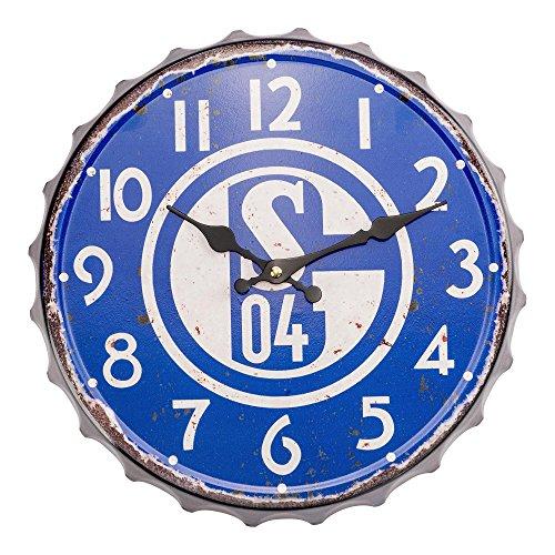 FC Schalke 04 - Wanduhr - Vintage - Groß - UHR - S04 -