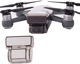 Helistar Compatible Gimbal Cover for Spark Drone Camera Lens Guard Cover 3D Screen Sensor Protector Cap in Transparent Grey