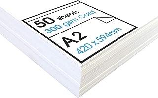 300gsm Premium A2 White Card