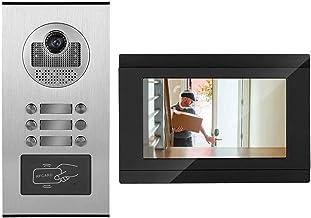 Sistema de intercomunicação com campainha de vídeo porteiro de alto desempenho Sistema de entrada com campainha de vídeo c...