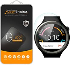 Supershieldz (2 Pack) for Motorola Moto 360 Sport Tempered Glass Screen Protector, Anti Scratch, Bubble Free