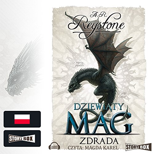 Zdrada audiobook cover art