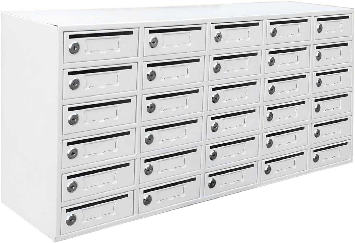 FixtureDisplays 30-Slot Cell Phone Station Sales for sale Superior with Lockers Storage