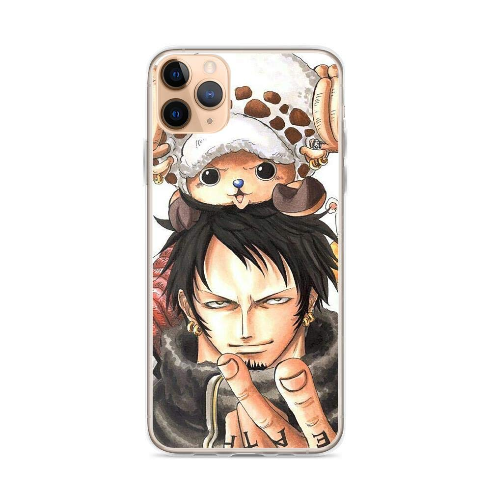 Horseshoe's Compatible with iPhone 11 Pro Max Case One Piece Pirate Anime Luffy Pure Clear Phone Cases Cover