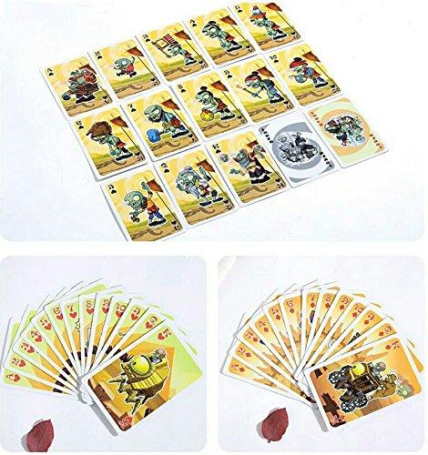Pflanzen gegen Zombies Spielkarten / Skatkarten / Pokerkarten * original & offiziel lizenziert (Zombies Version)
