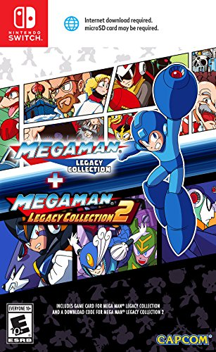 Mega Man: Legacy Collection 1 + 2 for Nintendo Switch