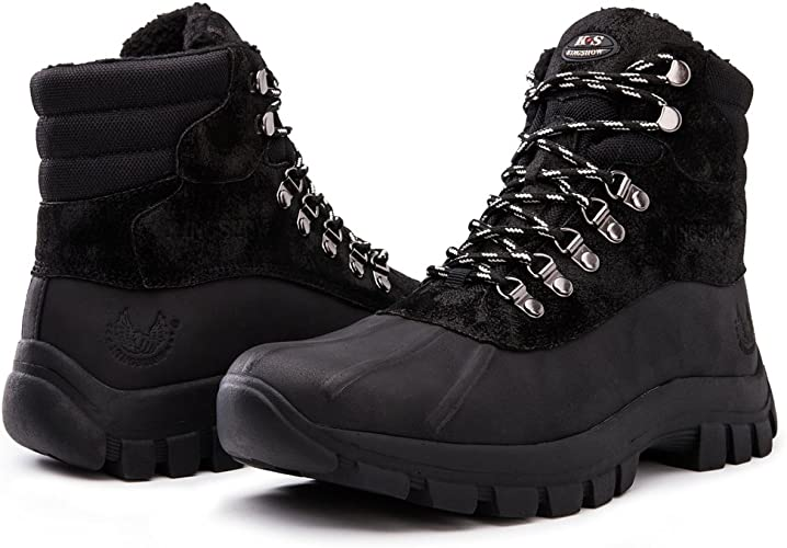 kingshow Men's 1705 Work Snow Boots