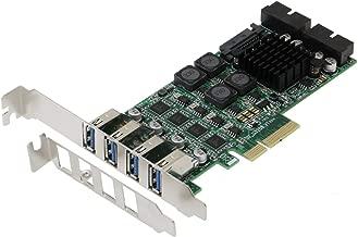 Sedna - PCI-E to 8 Port USB 3.0 (USB 3.1 Gen I) Expansion Card (4E4I)