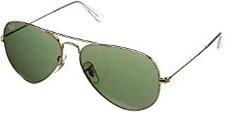 Ray-Ban, RB3025, Large Metal Aviator Sunglasses 58 mm,...