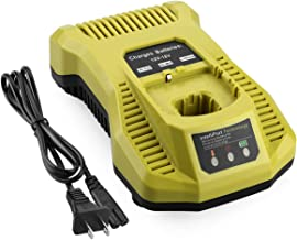Yabelle P117 P118 Dual Chemistry IntelliPort Fast Charger for Ryobi 12V 18V Max One+ Plus..