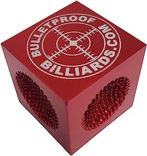 Bulletproof Break Tips Cube2 5 Tools in 1 Pool Cue Tip Maintenance, Tapper, Perforator, Shapers - The Greatest Tip Tool Ev...