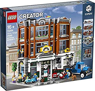 レゴ(LEGO)クリエイター・エキスパート コーナー・ガレージ(自動車整備工場)│Corner Garage 【10264】