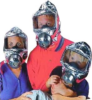 KIKAR Emergency Escape Hood Oxygen Mask Respirator 60 Minutes Fire Smoke Toxic Filter