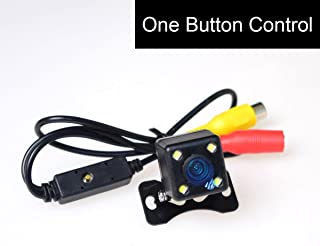 E-KYLIN Car HD Universal Backup Camera [One Button Control] LED Night Vision: NTSC/PAL & Front View(Non-Mirrorred)/Reverse...