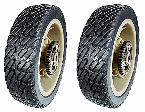 Stens 205-670 Pack of 2 Plastic Drive Wheels for Lawn-Boy and Toro