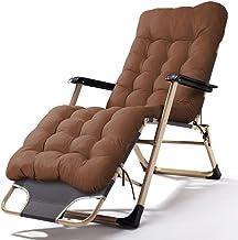 High-quality recliner Sun Lounger Deck Chairs, Sun Lounger Portable Recliner Folding Outdoor Beach Office Lunch Break Lazy Chair (Color : E)