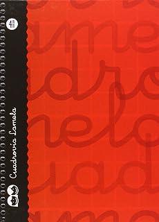 Lamela 7CTE004R - Cuaderno cuarto con espiral, color rojo