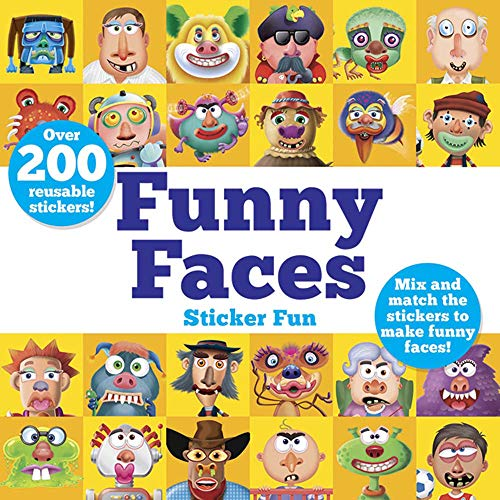 STICKER BK-FUNNY FACES STICKER: Mix and Match the Stickers to Make Funny Faces (Dover Children's Activity Books)