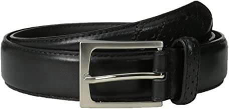 Florsheim Men's 32 mm Full Grain Leather Wingtip Belt