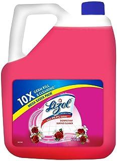 Lizol Disinfectant Surface & Floor Cleaner Liquid, Floral - 5 L