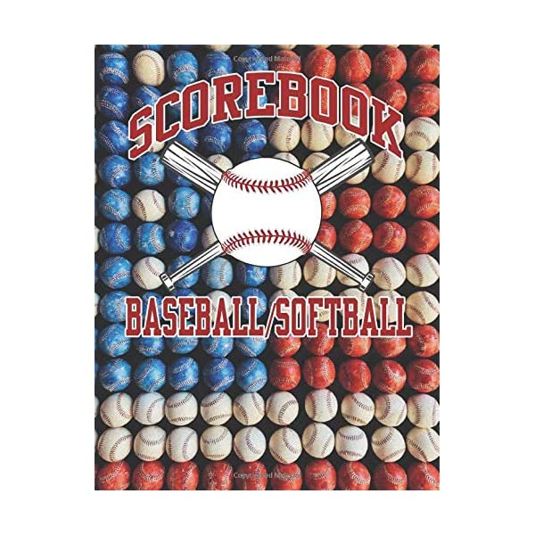 Baseball/Softball Scorebook: inning to inning stat tracking and record keeping