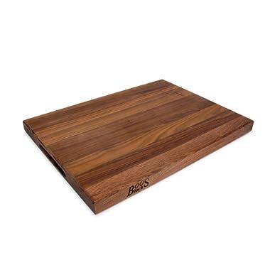 John Boos WAL-R03 Walnut Wood Edge Grain Reversible Cutting Board, 20 Inches x 15 Inches x 1.5 Inches